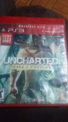 UNCHARTED 1 para PS3