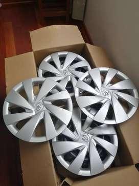 Aros nuevos Toyota