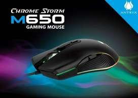 Mouse Gamer Antryx Chrome Storm M650 7 Botones