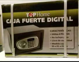 Caja Fuerte Digital Con Display 35x25x25 Top Home