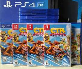 Crash Team Racing Nintendo Switch Stock