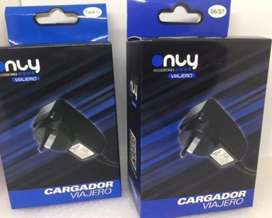 Cargador ONLY C/Cable Tipo C
