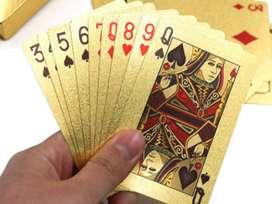 Carta de Póker edición Gold 1 maso