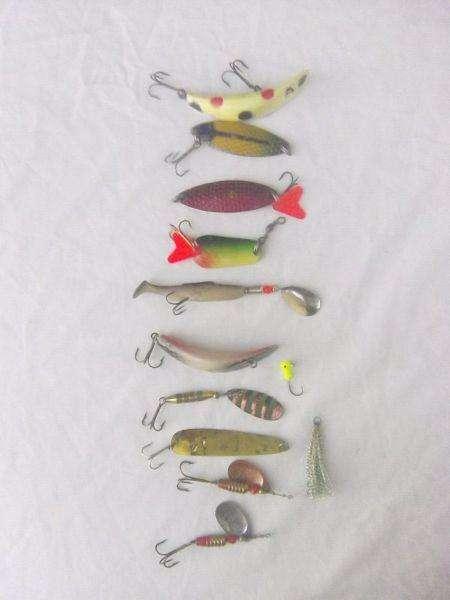 Señuelos para pesca lote