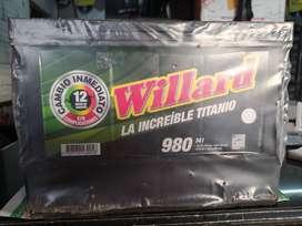 BATERÍA WILLARD 980 CON UN MES DE USO