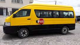 Se vende furgonete escolar