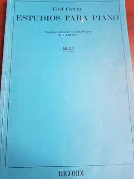 Vendo, libro de musica para piano