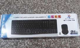 Combo Inalámbrico STAR TEC, Teclado  Mouse - ST-CB-72