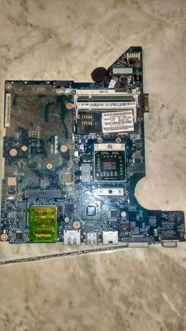 Placa Madre Para Repuestos De Portátil Hp Pavilion Dv4-2116la + Procesador AMD Turion II + Base De Disipador