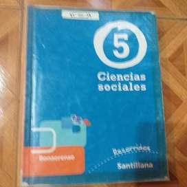 CIENCIAS SOCIALES 5 BONAERENSE - RECORRIDOS - SANTILLANA