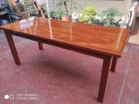 Mesa de pino grande