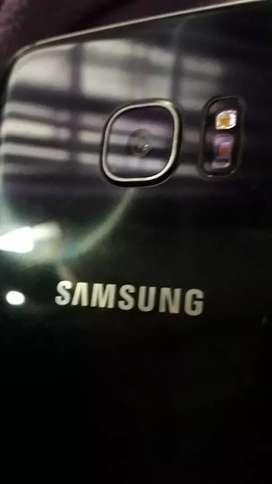 Celular Samsung Galaxy S7 Edge pantalla astillada funciona perfecto