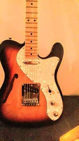 Guitarra Eléctrica Sx Thinline Vtg Custom Muy Buena