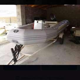 Semirrígido Kiel 460 Yamaha 40hp