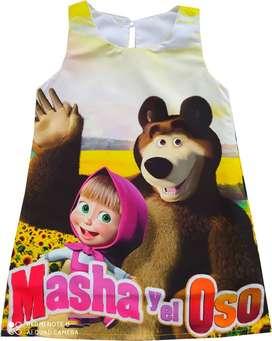 Vestidos Masha y el Oso