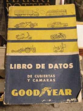 Goodyear libros de datos de cubiertas y camaras