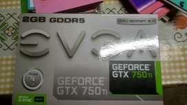 GTX 750 ti EVGA permuto