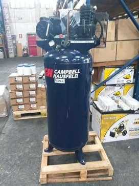 COMPRESOR DE AIRE VERTICAL CAMPBELL HAUSFELD 3.7HP 60GALONES 220V