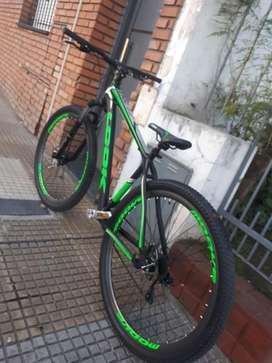 Vendo bicicleta look zero rodado 29