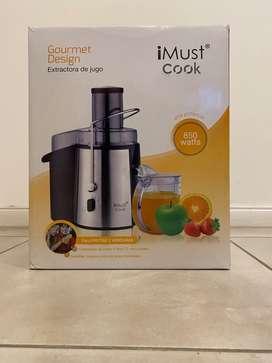 Extractora de jugo Gourmet Design IMust
