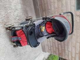 Cochecito + sillita bici