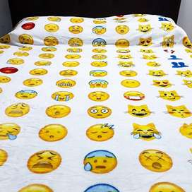 Cobijas Frazada Piel Ángel Emoticones Emoji