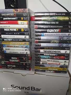 Juegos de PS3 en perfecto estado y diferentes precios