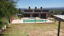 td75 - Cabaña para 2 a 4 personas con pileta y cochera en Estancia Vieja