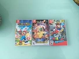 Vendo videojuegos Nintendo Switch