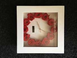 Reloj de pared Suriflowers
