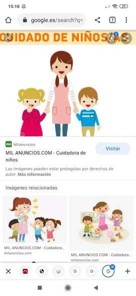 Empleada doméstica y cuidadora de un niño