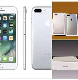 Iphone 7plus, 128Gigas, Plata, Perfecto Estado