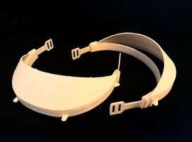 Protector Facial Reutilizable con 2 Pantallas de Acetato x10u