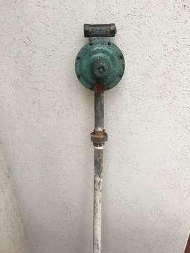 Regulador gas envasado doble tubo 45