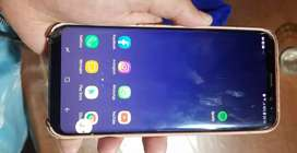 S8 Plus detalle en pantalla liberado funciona 100%