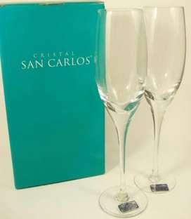 Copas de Cristal San Carlos