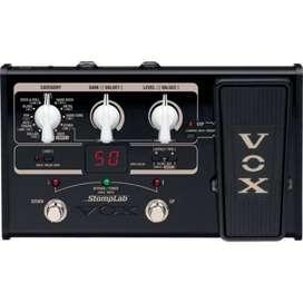 Pedal Vox SL2G Multiefectos Guitarra electrica expresion