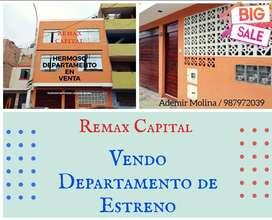 Vendo Departamento en El Callao, 3er Piso, $36,000