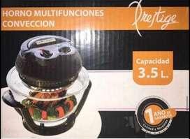 Horno multifunciones Prestige de 3.5 litros