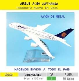 aviones de coleccion maquetas airbus a380