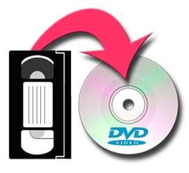 VHS, Video ocho,  a CD, dvd o memoria usb, informacion tambien por Whatsapp a este mismo numero