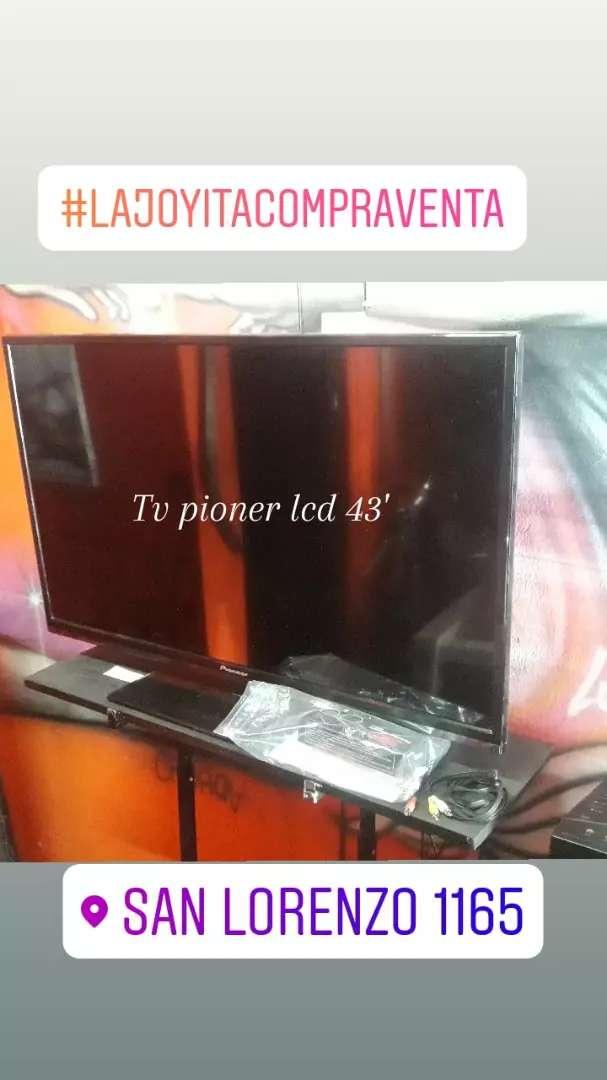 Tv pioner lcd 43 pulgadas 0