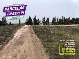 VENTA DE PARCELAS EN BERLIN A 3 minutos de la via
