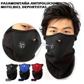 mascaras antipolucion moto y bici