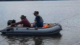 bote inflable 3.20 m piso de aluminio