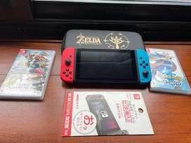 Ninten switch + juegos