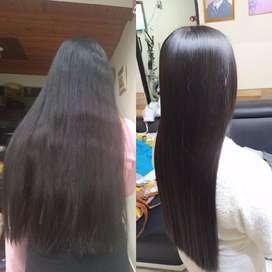 Pestañas pelo a pelo, keratina