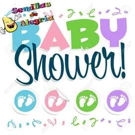 Recreacionista baby shower por 3 hrs