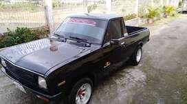 Datsun 1200 Año 1974 Negro Flamante