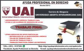 UAI - ABOGACÍA: Trabajo Final
